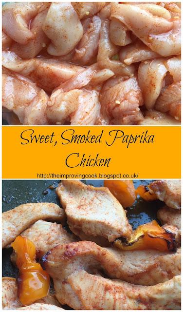 Sweet Smoked Paprika Chicken
