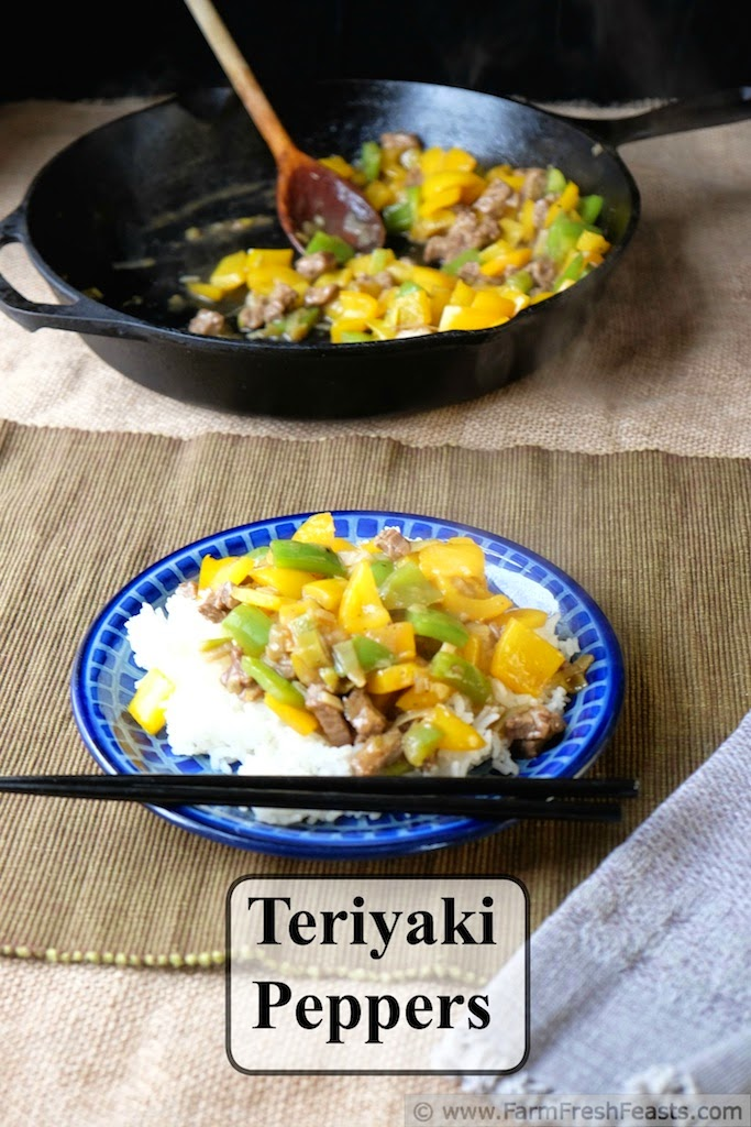 Teriyaki Peppers from Farm Fresh Feasts