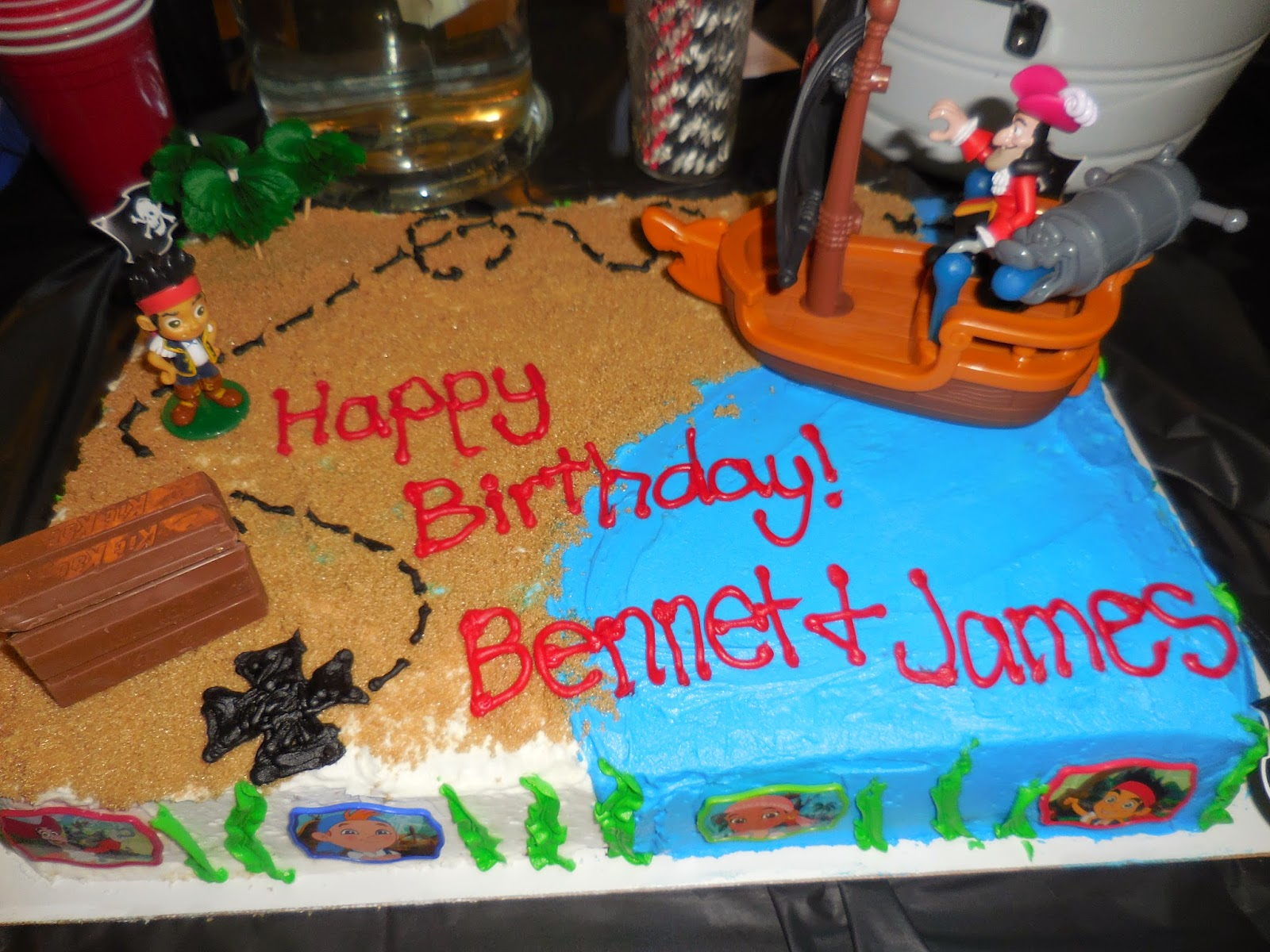 Jake and the Neverland PIRATE Birthday Party