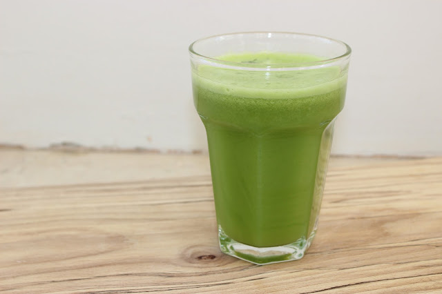 pear and broccoli juice
