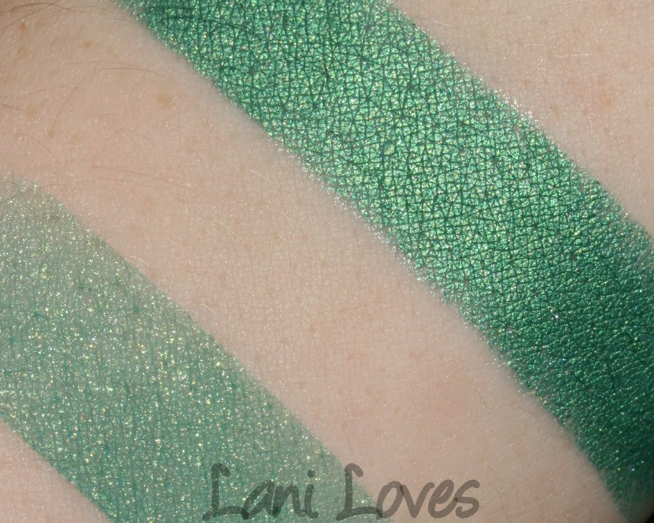Femme Fatale Cosmetics Emerald Dream swatch
