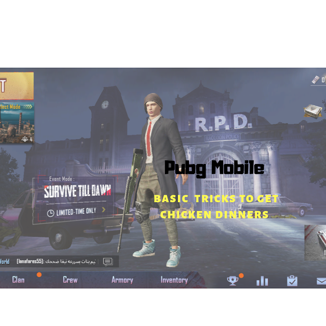 [basic] Pubg mobile tips and tricks
