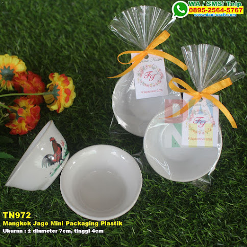 Mangkok Jago Mini Packaging Plastik