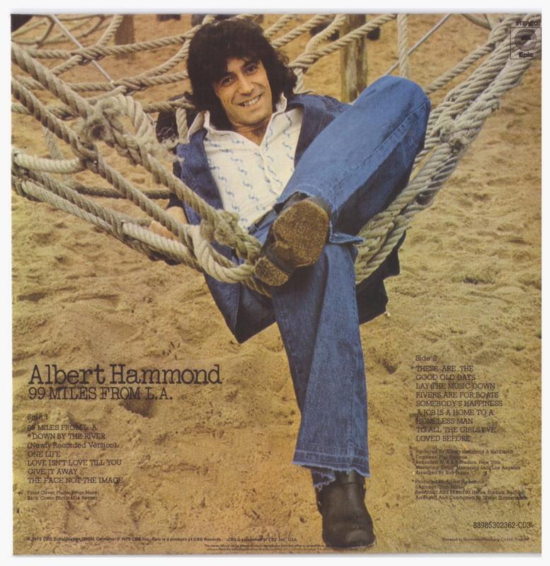 ENTRE MUSICA  ALBERT HAMMOND - 99 Miles from L.A (1975) 93077f2fccc
