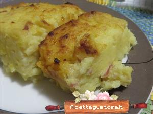 Timballo di patate