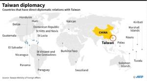 """Taiwan's Foreign Minister David Lee strongly criticised Sao Tome's move, saying it was seeking """"astronomical"""" financial assistance, which Taipei refused."""