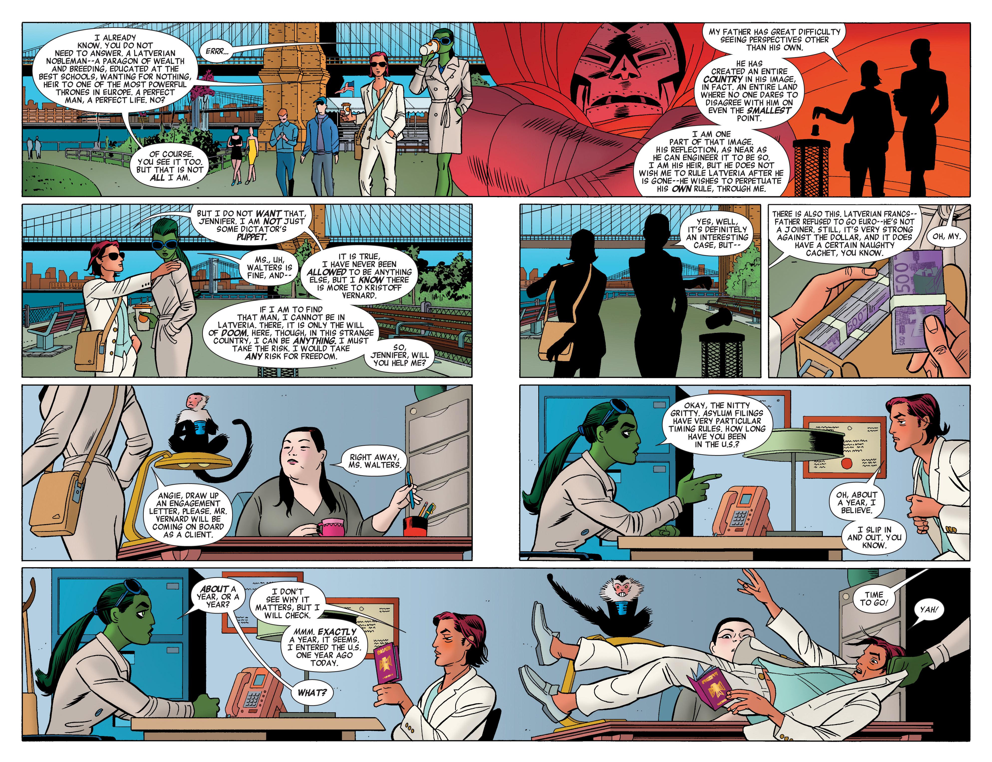 Read online She-Hulk (2014) comic -  Issue #3 - 6