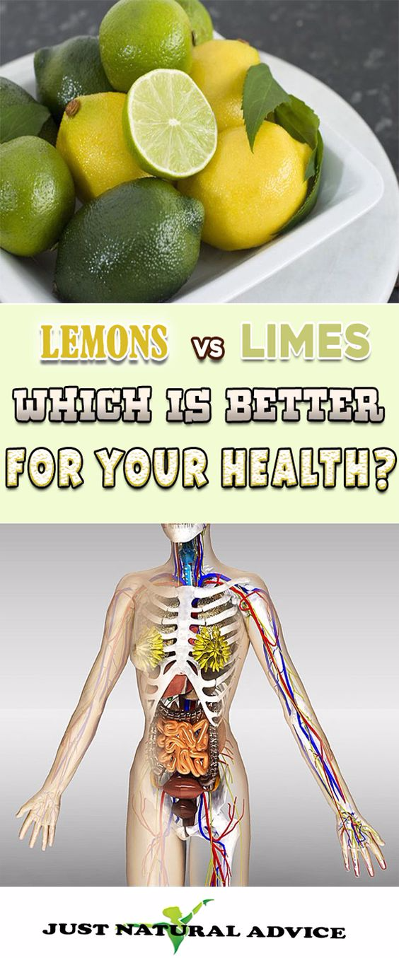 LEMONS VS LIMES. WHICH ONE IS BETTER FOR YOUR HEALTH?