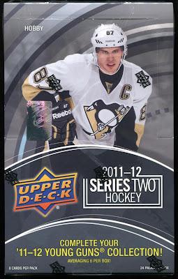 2011-12 Upper Deck Series 2 - Box Break #1