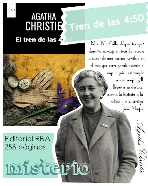 El tren de las 4.50 - Agatha Christie