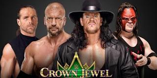 """أنتهت """"الأن اعلان الفائز في نتائج عرض نزلات مصارعة كراون جول WWE CROWN JEWEL اليوم الجمعة 2/11/2018 في السعودية كاملة"""