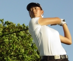 Michelle Wie is the youngest golfer to make the cut on the LPGA Tour