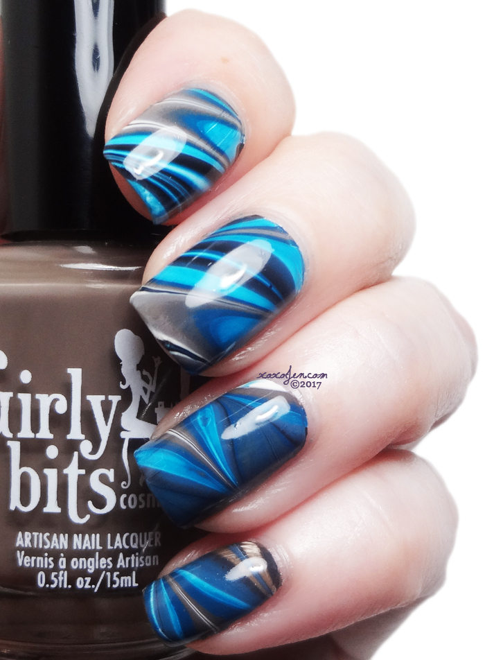 xoxoJen's swatch of Girly Bits: Water Marble