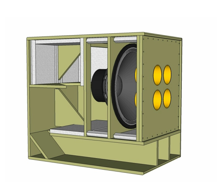 Skema Box Speaker Subwoofer 21