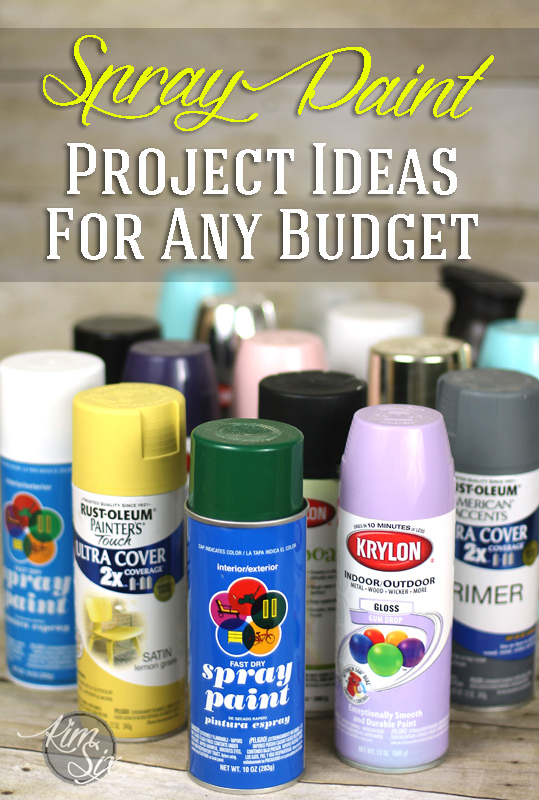 Spray Paint projects for any budget