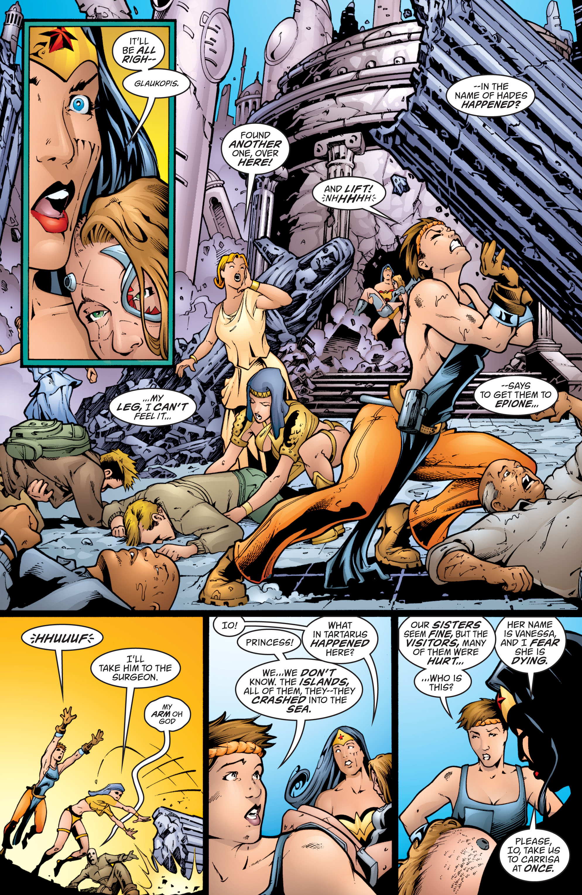 Read online Wonder Woman (1987) comic -  Issue #201 - 9