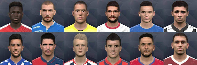 PES 2017 Face Pack Update