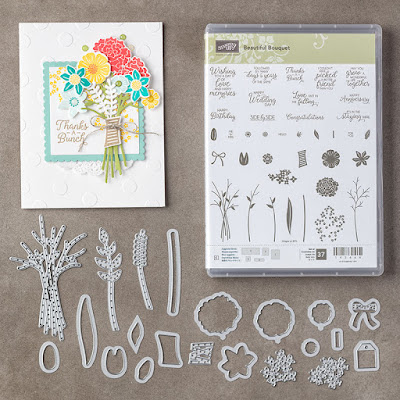 Beautiful Bouquet has endless possibilities for all the floral cards you want to make - Grab yours here - http://bit.ly/2IBKNQi