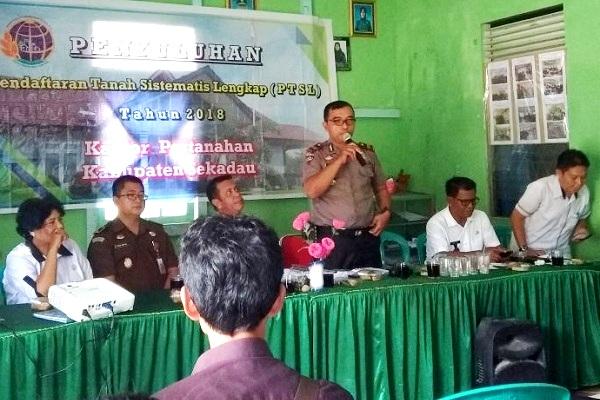 Penyuluhan Pendaftaran Tanah Sistematis Lengkap (PTSL) 2018