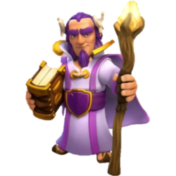 The Grand Warden , COC , CLASH OF CLANS