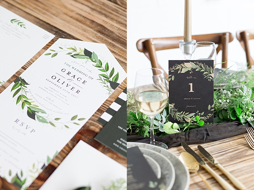 Raw Elegance Styled Shoot with Minted Southern California Wedding