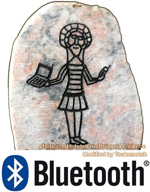 Bluetooth Logo Rune