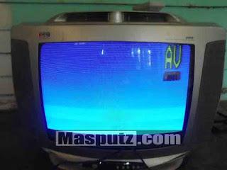 Memperbaiki Gambar TV Goyang / Miring Kekiri - Kanan