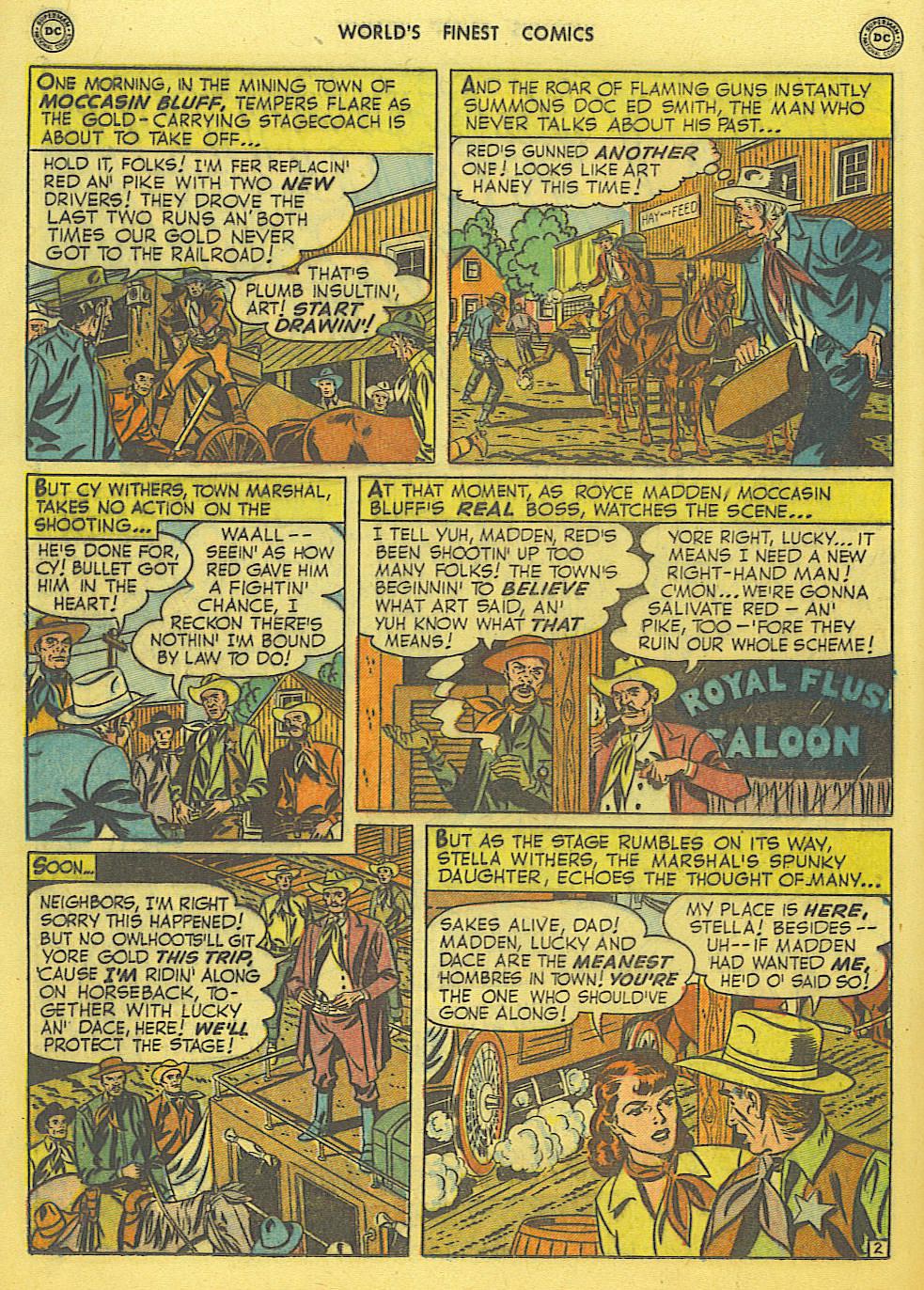 Read online World's Finest Comics comic -  Issue #49 - 41