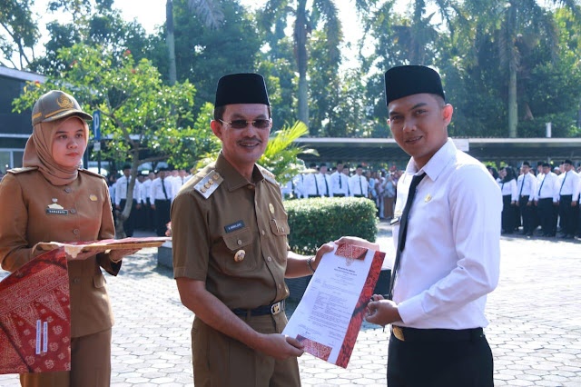 Walikota Palembang Ajak CPNS Untuk Sukses