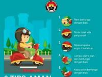Tips Aman Saat Kendarai Sepeda Motor