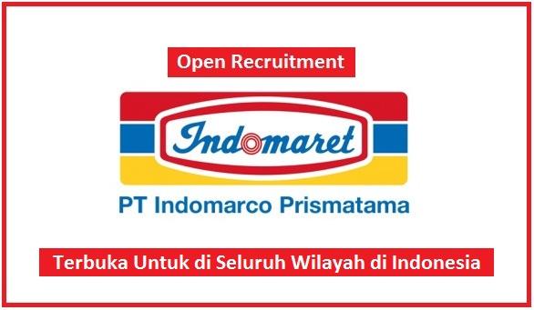 PT Indomarco Prismatama (Indomaret) Buka Lowongan Kerja Di Seluruh Indonesia (Lulusan SMP, SMA/SMK, D3, S1)