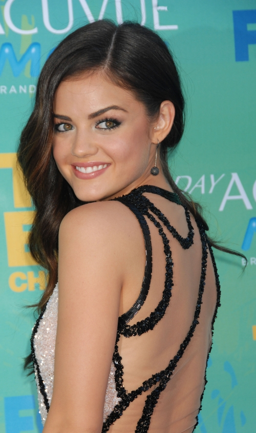 Lucy Hale with Tragus Piercing