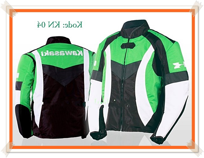 model jaket touring kawasaki