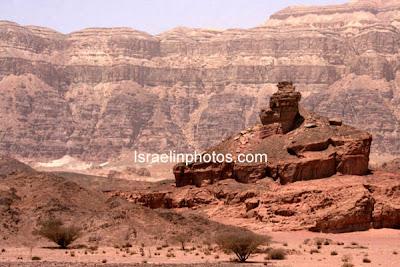 Israel Reis Gids- Natuur Reservaten: Het Timna park ligt ten noorden van Eilat
