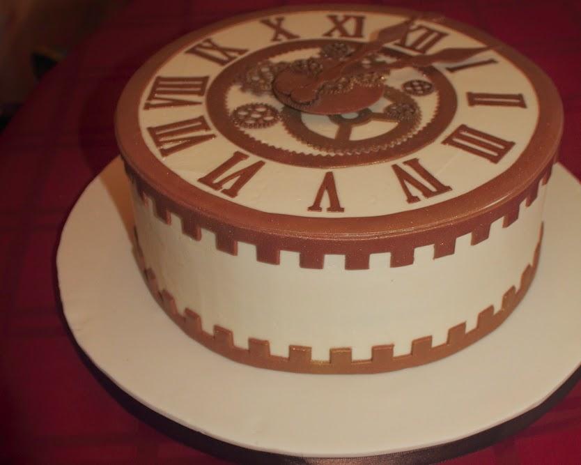 The Cake Engineer The Tenure Clock Cake