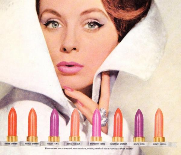 década de 60 maquiagem