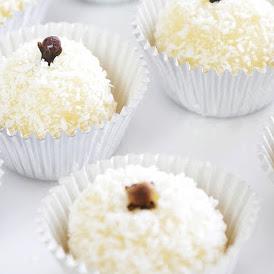 Brazilian Coconut Beijinho Truffle Recipe