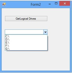 How to access drive of the system