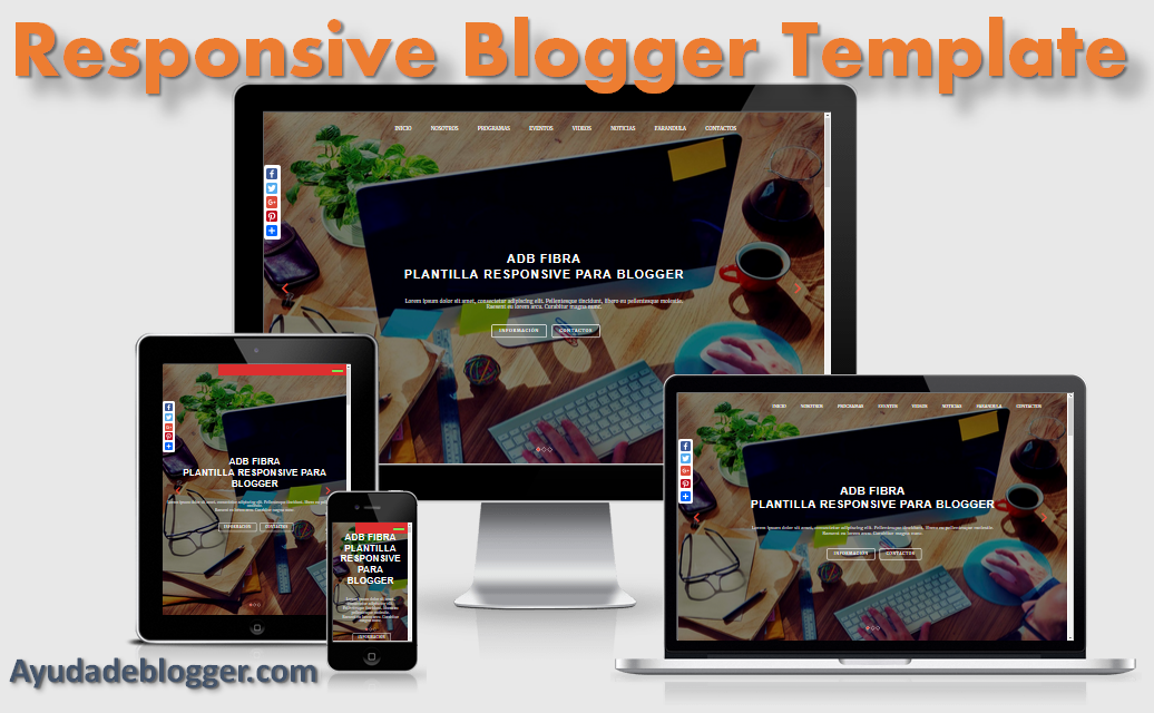 Adb Fibra Plantilla Responsive para Blogger | Ayuda de Blogger