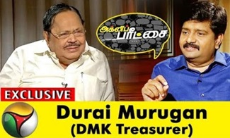 Agni Paritchai: Interview with Durai Murugan 01-09-2018