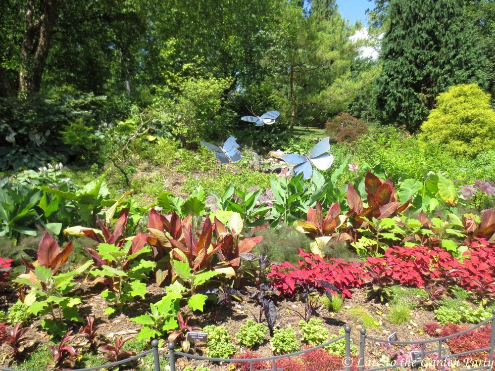 Late to the Garden Party: Brookside Gardens - It was all about the ...