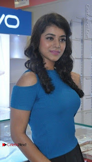 Telugu Actress Yamini Bhaskar Latest Pos in Blue Top and Black Skirt  0020.jpg