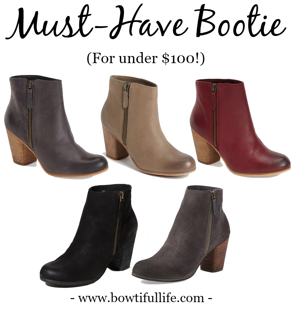 My Favorite Fall Bootie (under $100!)