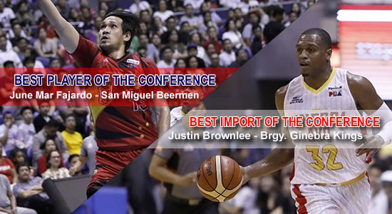 LIST: BPC, Best Import winners and nominees 2018 PBA Commissioner's Cup