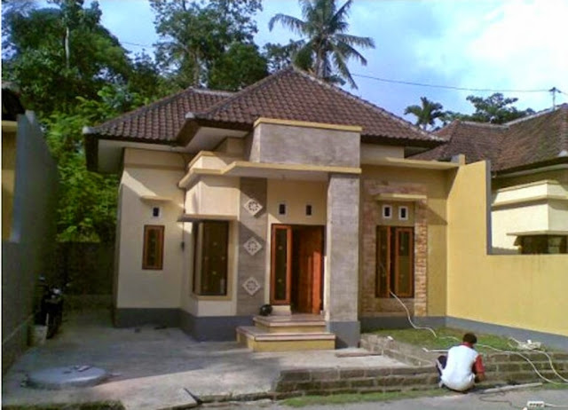 rumah kampung sederhana minimalis