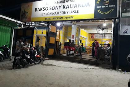 Bakso Sony Kalianda Lampung Selatan Tempat makan Bakso Paling Enak