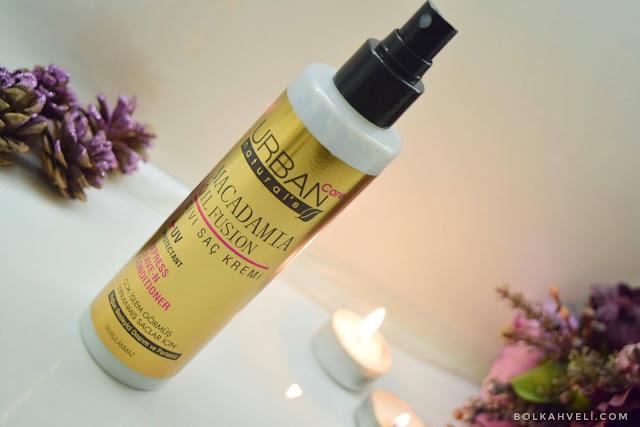 urban sıvı saç kremi