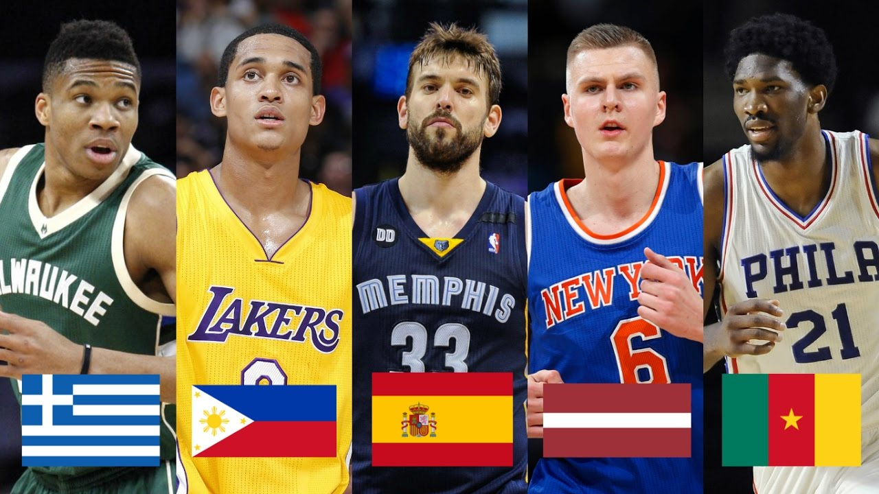 international player in the nba Next month's nba draft will continue the growing trend of selecting players across the atlantic, as another dozen international selections promise to be drafted.