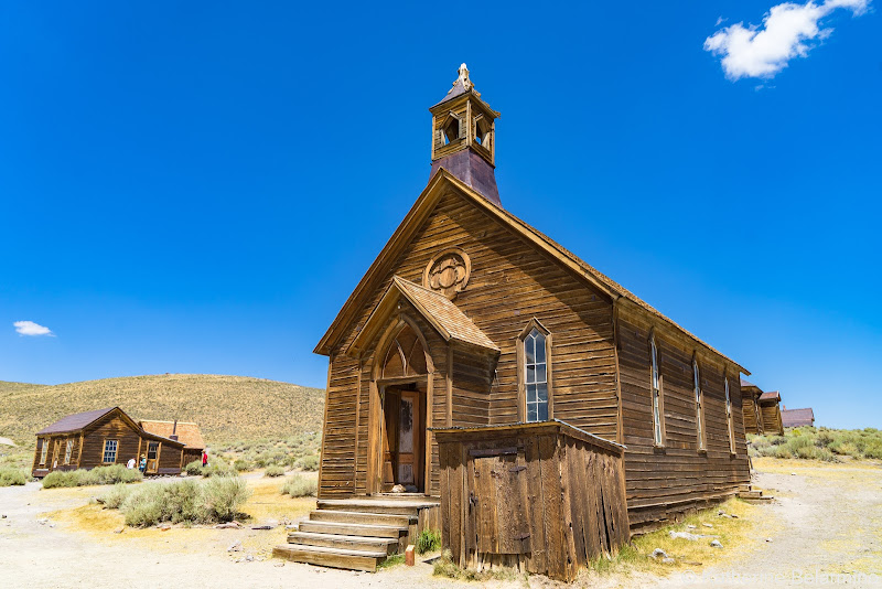 Methodist Church Bodie Ghost Town Things to Do in Mammoth in Summer