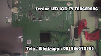 perbaikan sharp tv lcd led tangerang